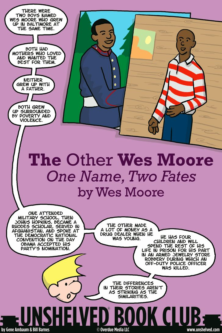 the other wes moore book analysis Wes moore—rhodes scholar, army officer and one-time special assistant to  secretary of state condoleezza rice—discovered one day in a newspaper  article.