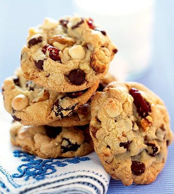 Double Chocolate Cherry Cookies - I've made these before. Found ...