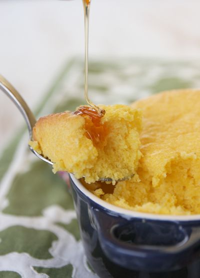 Sweet corn spoonbread - sounds like a gooey, delicious version of corn ...