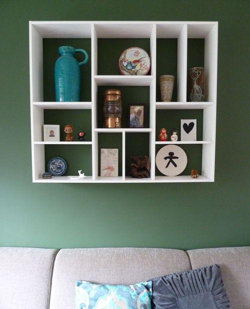 Letterbak van vtwonen op een groene muur  Green  Pinterest
