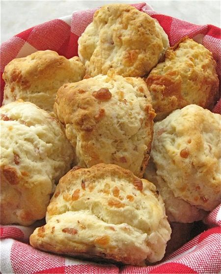 Ham and Cheese Biscuits, my fav | cookbook | Pinterest
