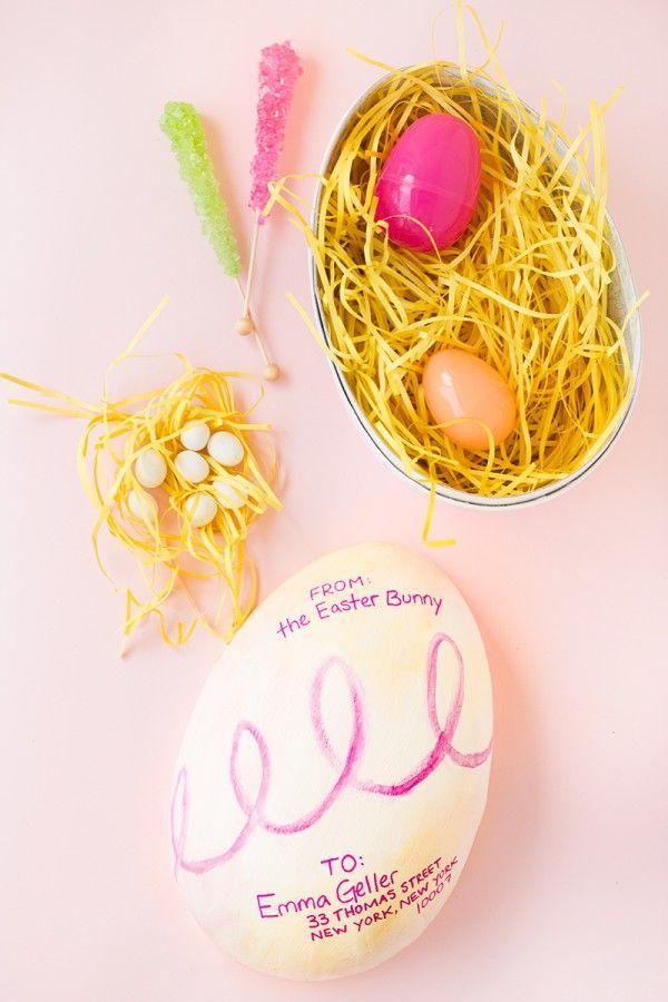 DIY Easter Egg-Gram - Studio DIY
