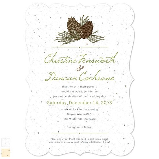 Plantable Wedding Invitations absolutely amazing ideas for your invitation example