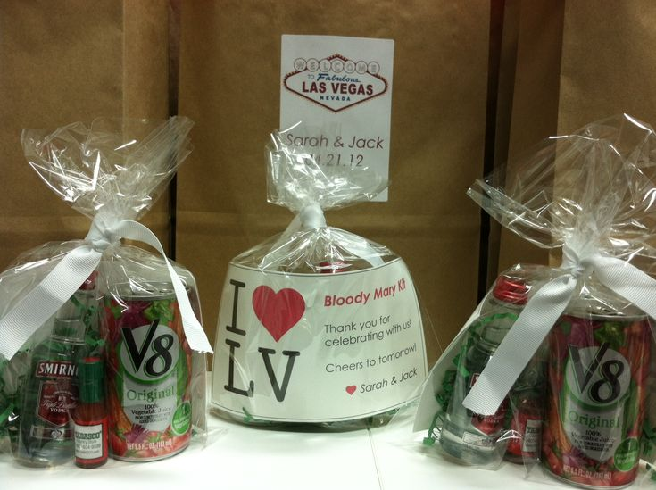 Las Vegas Wedding Gift Bag Ideas : Las Vegas Welcome Bags, hangover kit, Las Vegas wedding gift bags ...