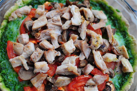gluten free spinach basil pesto pizza | Food!! | Pinterest