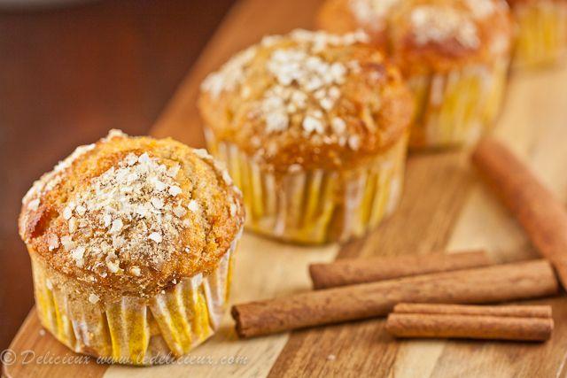 Orange, Honey, Cinnamon & Quinoa Breakfast Muffins | Recipe