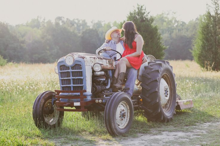 "She thinks my tractors sexy"" ;) 