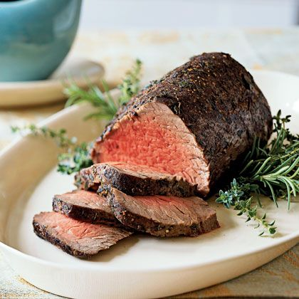 Ina Garten Beef Tenderloin Unique Of Thyme and SpiceRubbed Roast Beef Tenderloin au Jus | Bottles and  Image