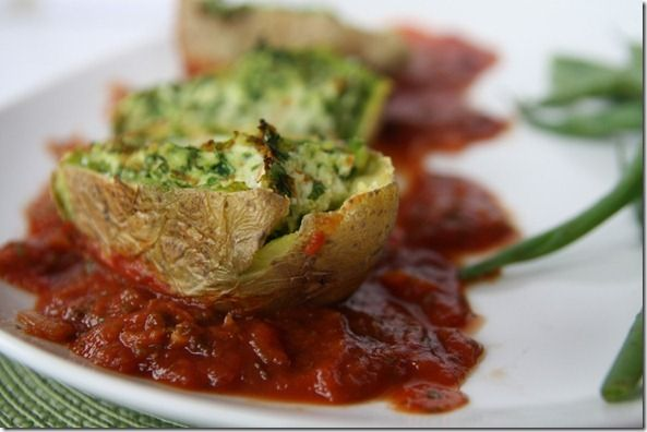 Indian Stuffed Potato Shells Recipes — Dishmaps