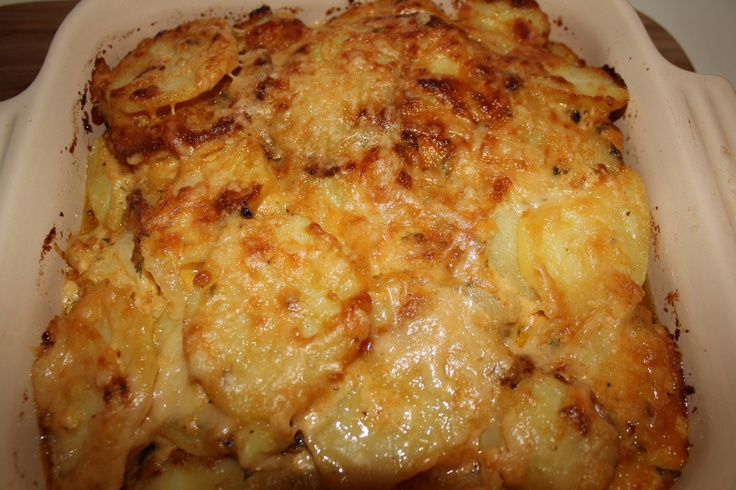 Three Cheese Scalloped Potatoes Recipes — Dishmaps