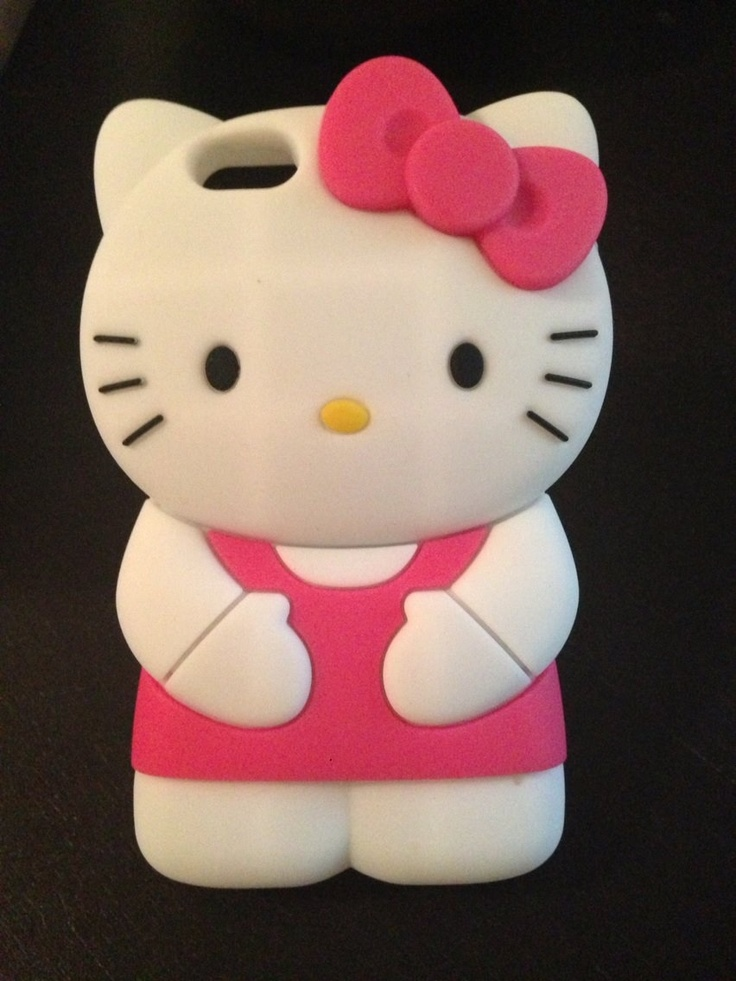 Found on getoffmycase storenvy comIphone 5 Cases Hello Kitty 3d