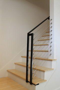 stair railing idea for basement basement kids pinterest