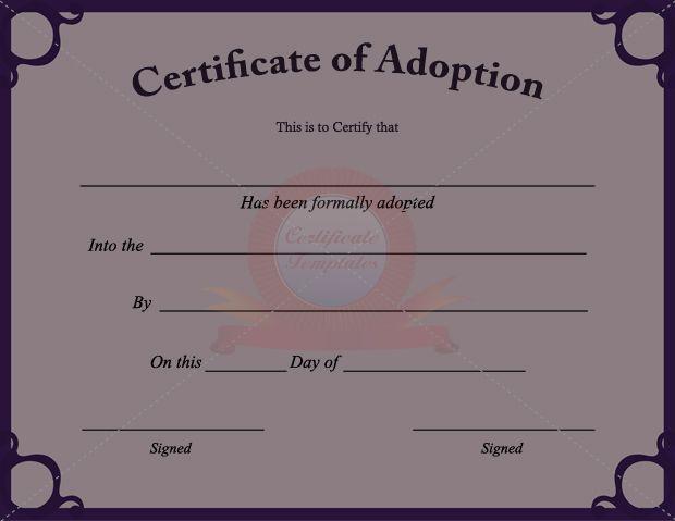 printable fake certificates