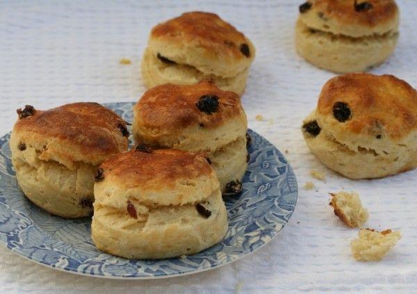 raisin scones | To Taste | Pinterest