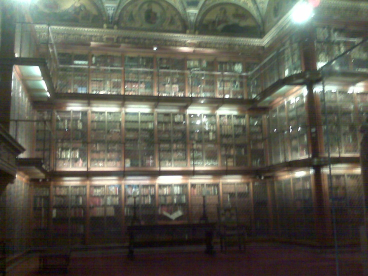 The Morgan Library...in its infinite coolness.