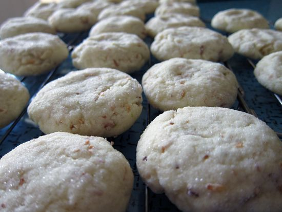 Coconut Lime Chewy Cookies 2 3/4 cups all-purpose flour 1/2 cup ...