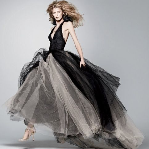 Black Wedding Dress Vera Wang Clothing Shoes Bags Etc Pinterest