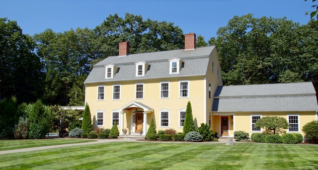 Reproduction Colonial New England Homes Places And