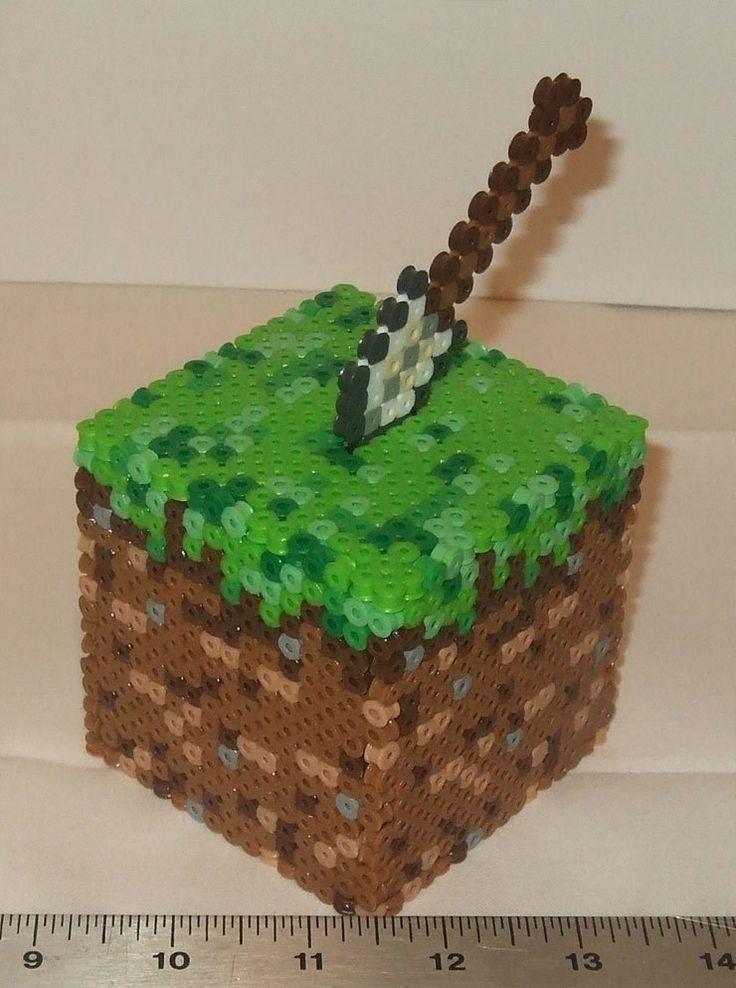 Perler Beads Minecraft Cake   Car Interior Design