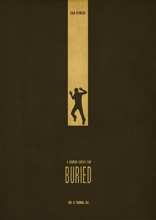 buried film poster graphic design pinterest