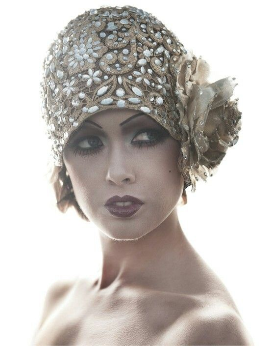 1920s Flapper Hat J 39 Adore Roaring 1920 39 S Fashion Pinterest