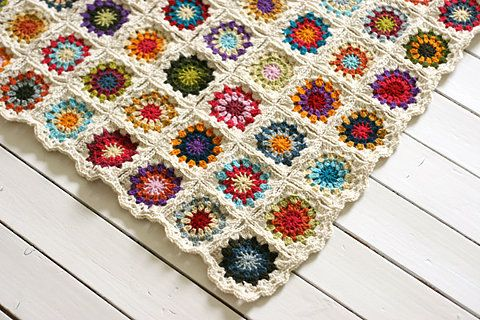 Crochet Quilt Squares : Crochet Quilt Beautiful Quilts Pinterest
