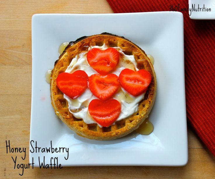 Honey Yogurt Waffle - quick and easy breakfast! #recipe
