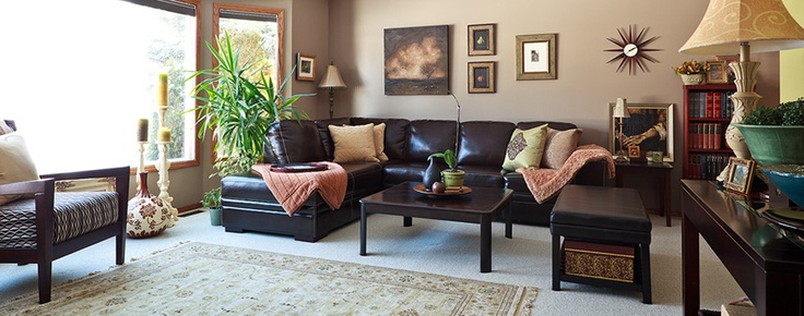 Pinterest for Warm inviting living room ideas