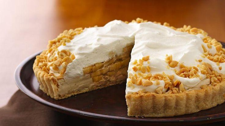Banana-Peanut Butter Cream Tart | Recipe
