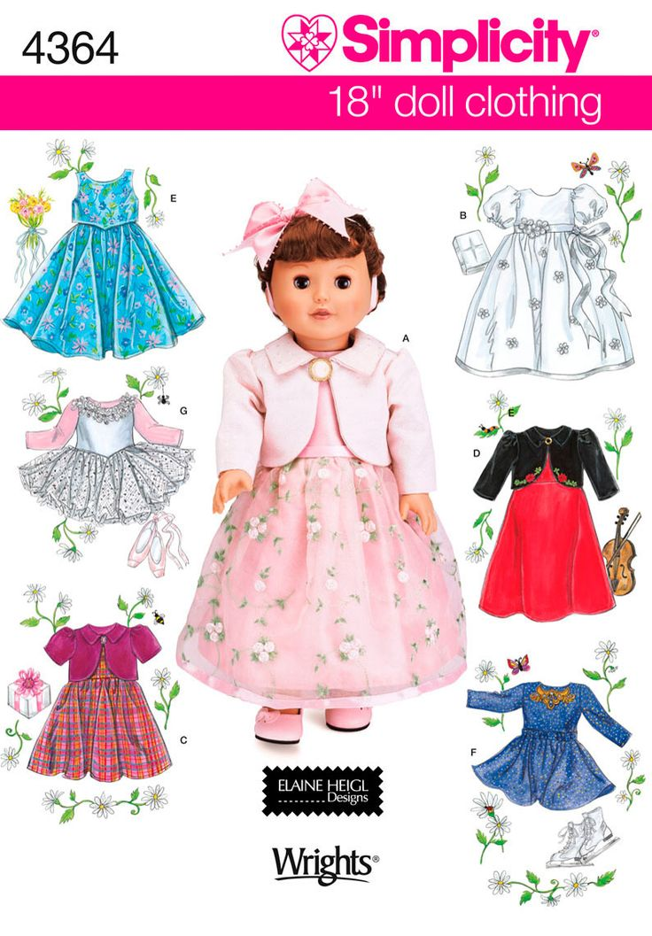 18-inch Doll Clothes | Doll Clothes | Pinterest