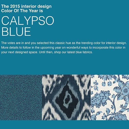 Robert Allen Interior design color of the year