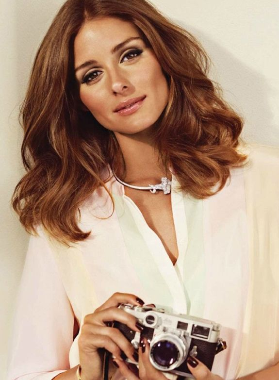 Olivia Palermo - love her hair