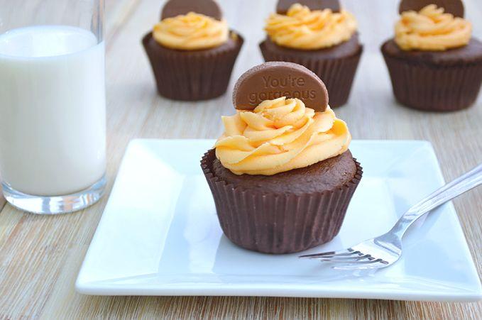terrys chocolate orange cupcakes