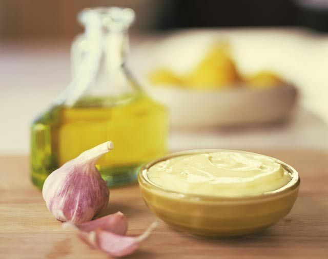Basic Aioli Recipe - A Garlic Mayonnaise Spread or Sauce