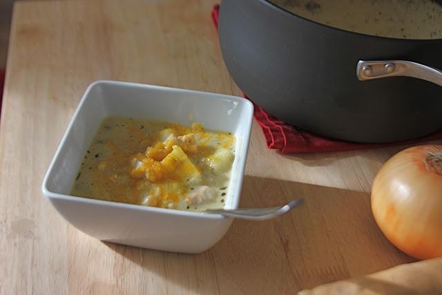white chicken chili with sweet potatoes | Gluten Free | Pinterest
