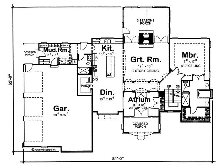 like the shared double sided fireplace home floorplans