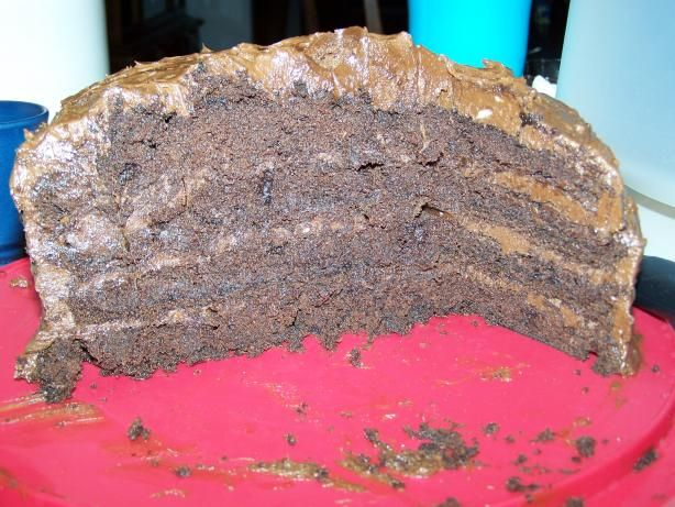 Devil s Food Cake With Chocolate Mousse Buttercream from Food.com ...