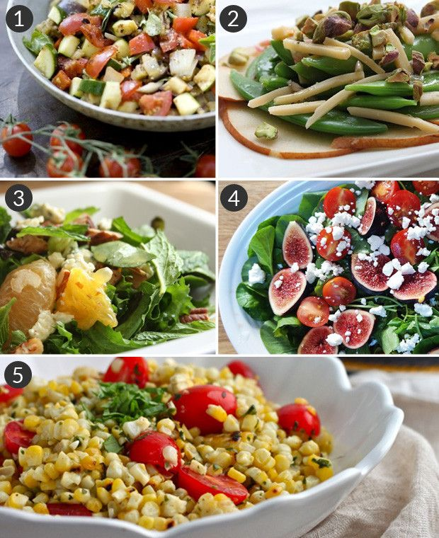 Exciting and healthy salad ideas amazing salads pinterest for Salas ideas
