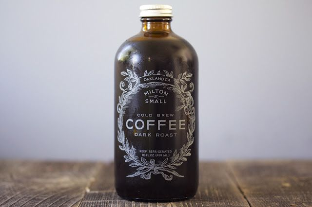 Milton & Small Cold Brew Dark Roast Coffee ~ inspiration came from an ...