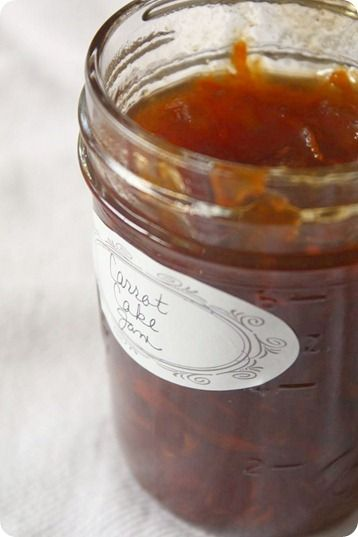 Carrot Cake Jam by Nutmeg Nanny Excellent recipe. Don't be worried ...