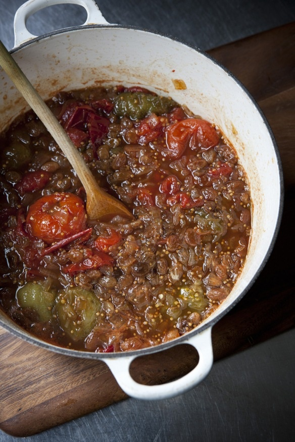 Green (or Red) Tomato And Apple Chutney Recipes — Dishmaps