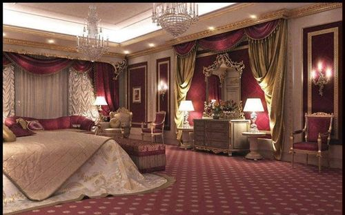 Royal Burgundy Bedroom Dreamy Bedrooms Pinterest