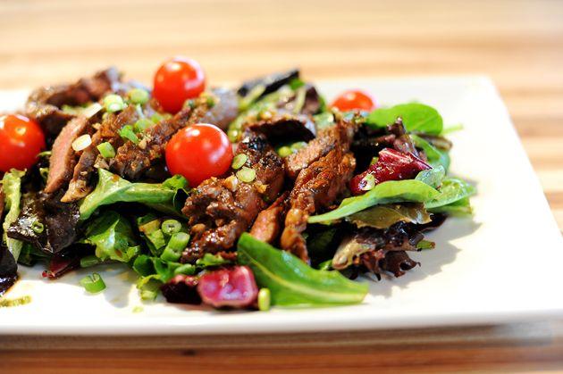 ginger steak salad | y u m | Pinterest