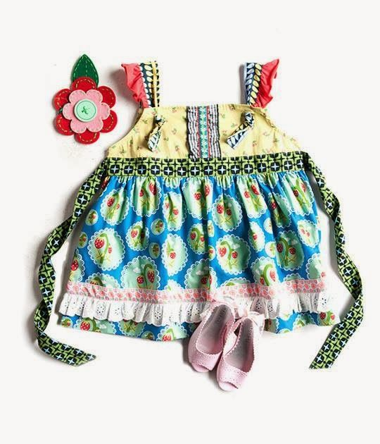 Matilda Jane Love Bug Knot Top It's a Wonderful Parade