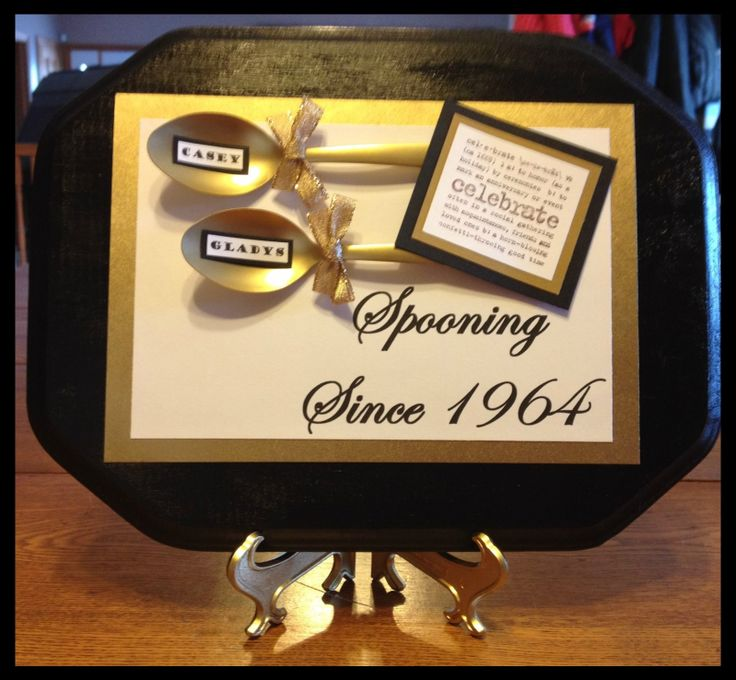 50th Wedding Anniversary Ideas Pinterest : 50th Wedding Anniversary Gift Crafts/Ideas Pinterest