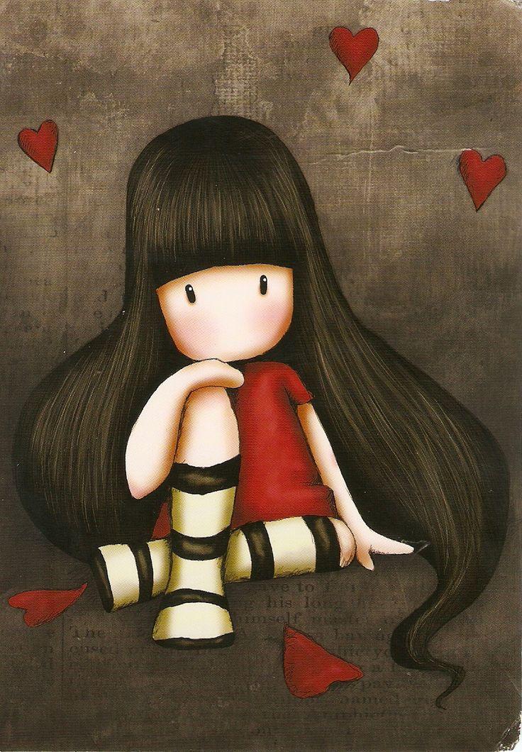 gorjuss сердце