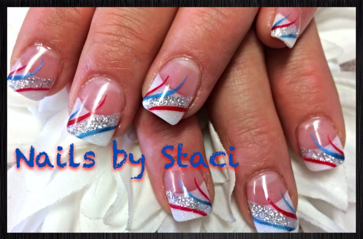 fourth of july simple nail designs