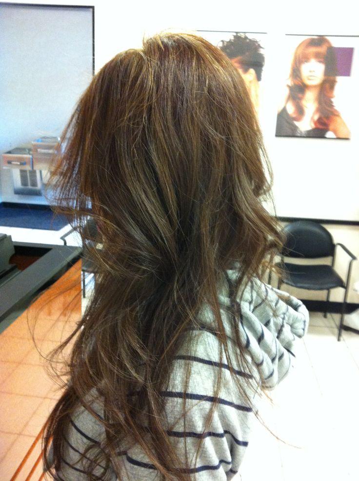 Partial Highlights : partial highlights ashbrown hair dark brown hairs partial highlights ...
