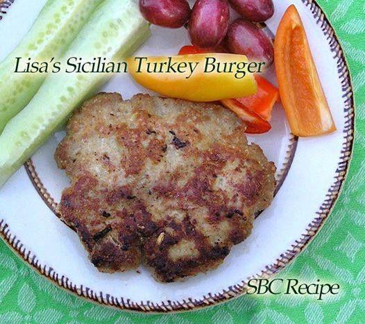 Sicilian Turkey Burgers | Healthy Recipes | Pinterest