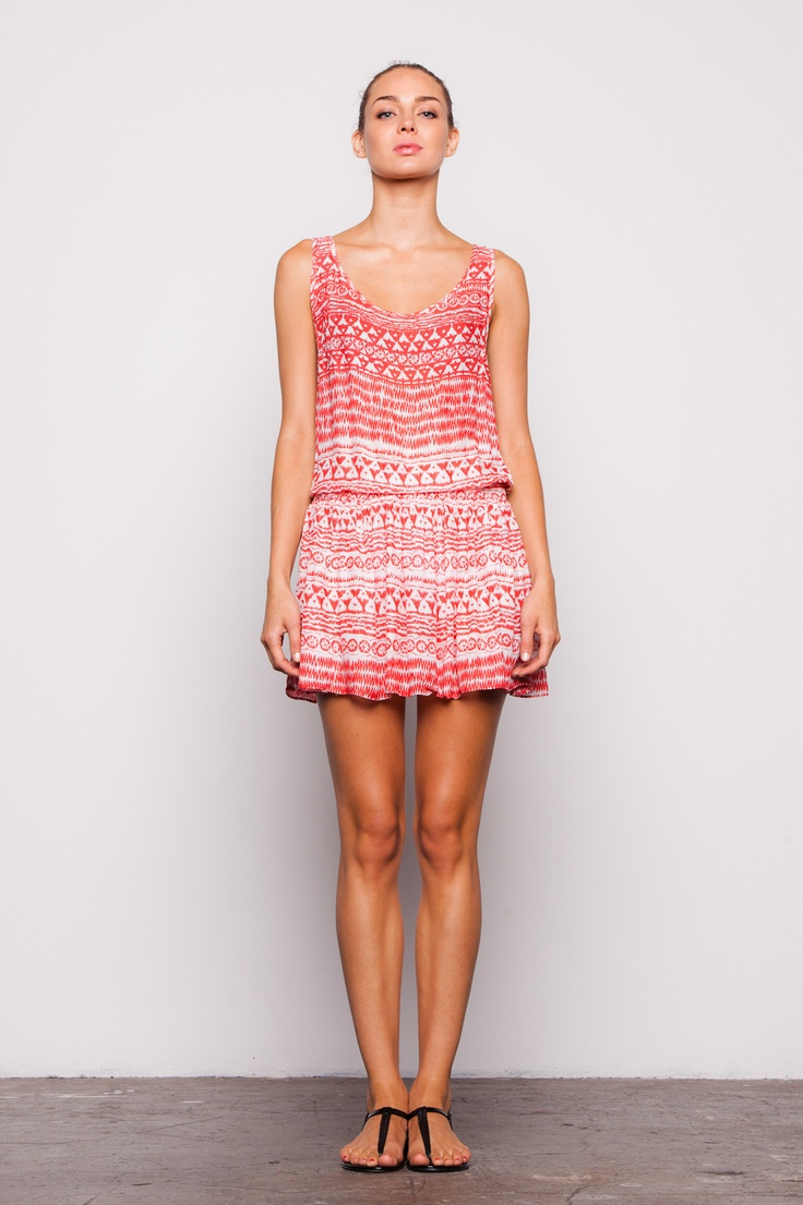 Lily Wang Lolita Printed Cotton Dress